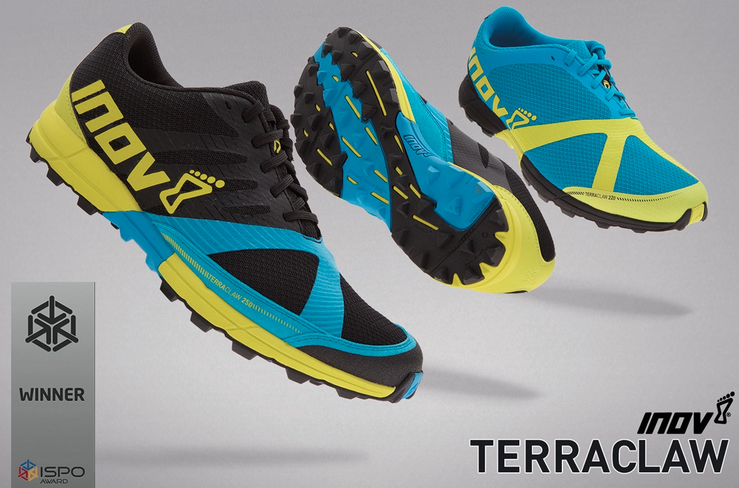 Inov-8 Terraclaw 250 and 220
