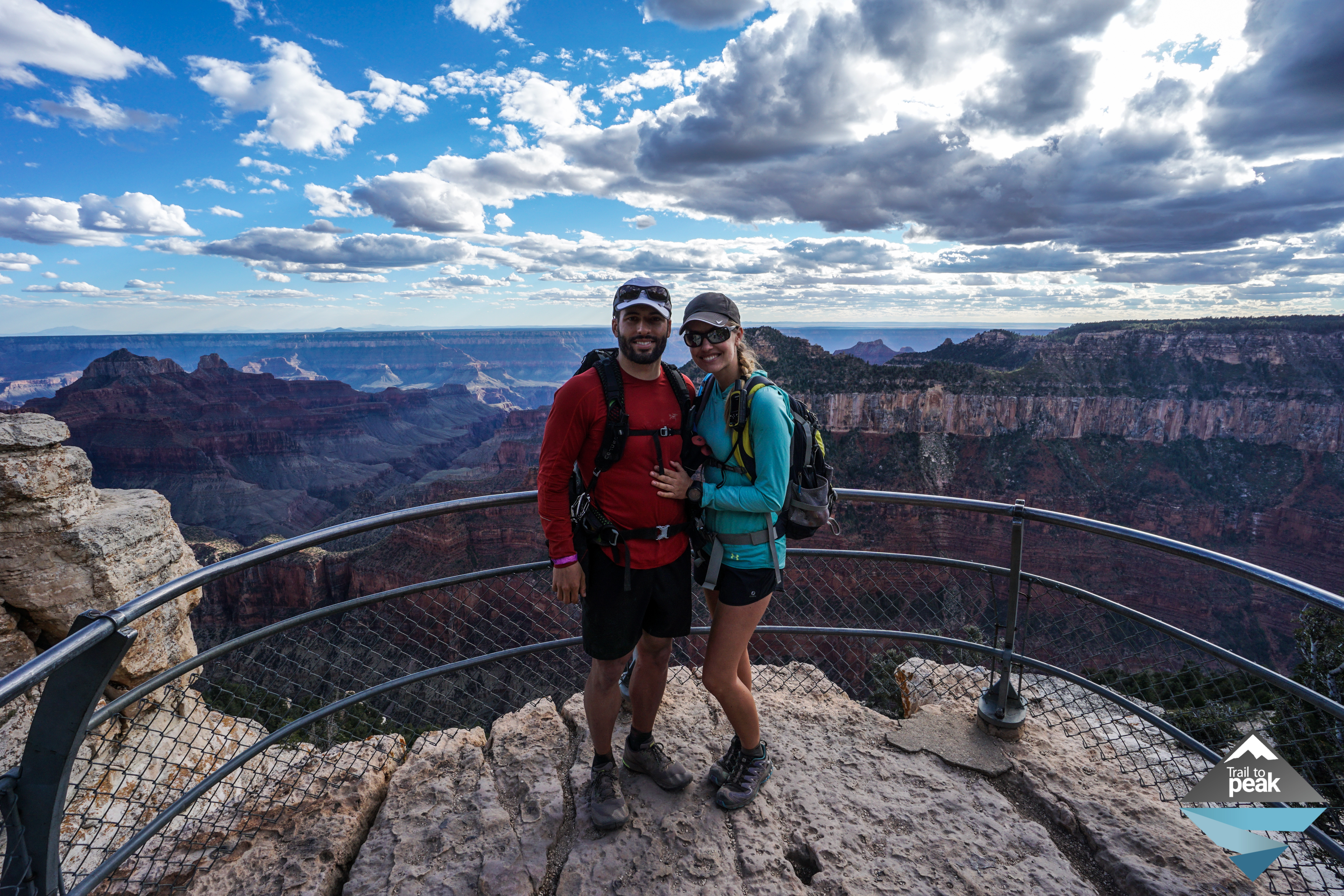 Grand Canyon Rim to Rim to Rim Hike