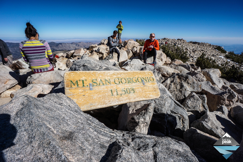 San Gorgonio Via Vivian Creek Trail Fall November