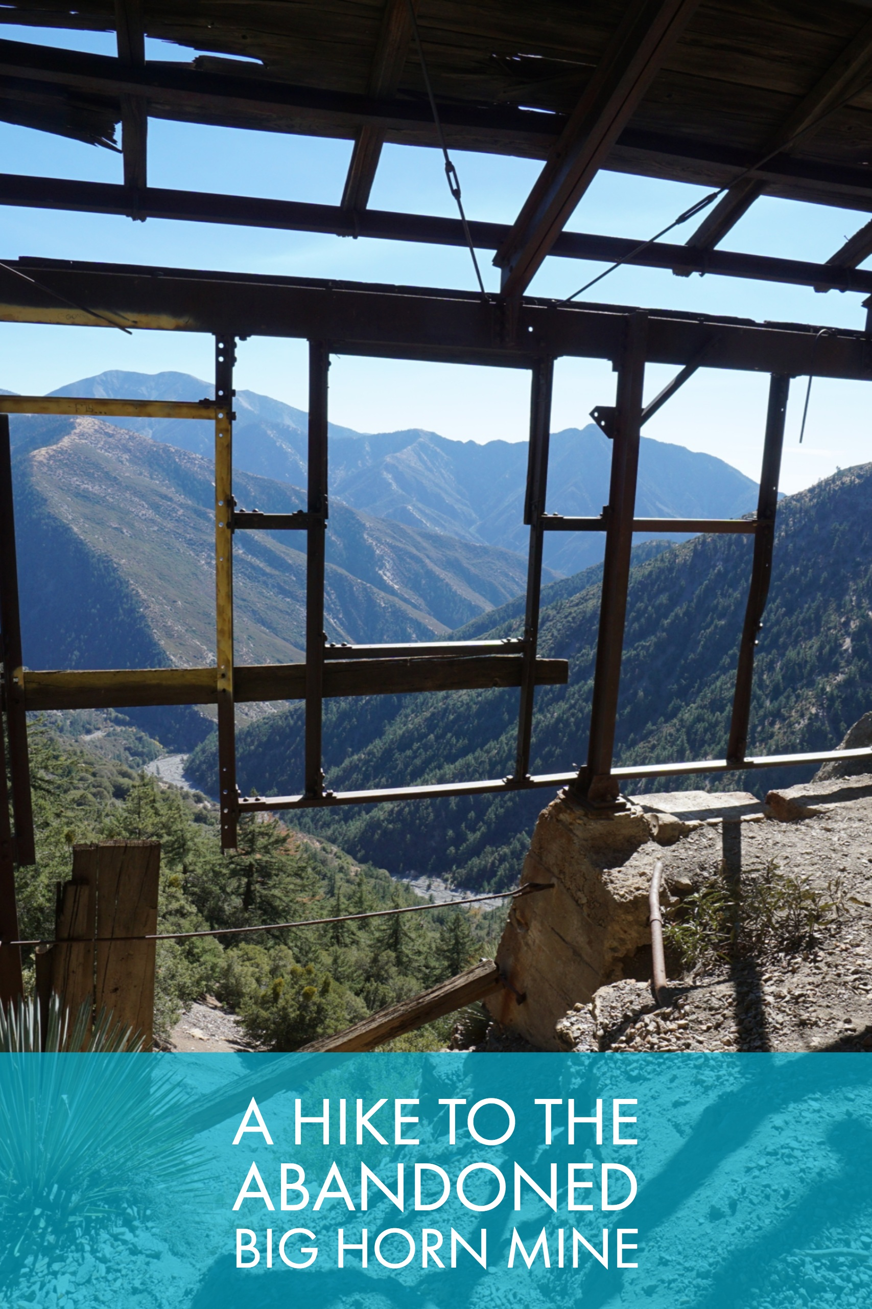 A Hike To The Abandoned Big Horn Mine - Trail to Peak