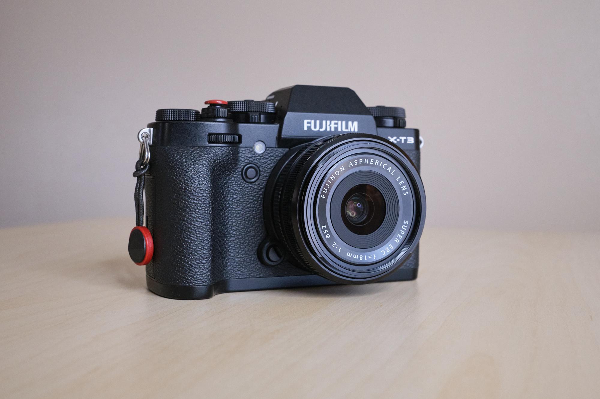 Fujifilm XF 18mm f/2.0